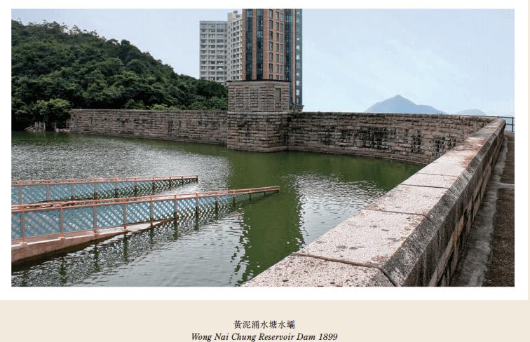 Wong Nai Chung Reervoirr Dam WSD 2009