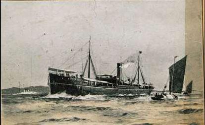 Hip Sang SS Indo China SNC torpedoed 16.7.1904
