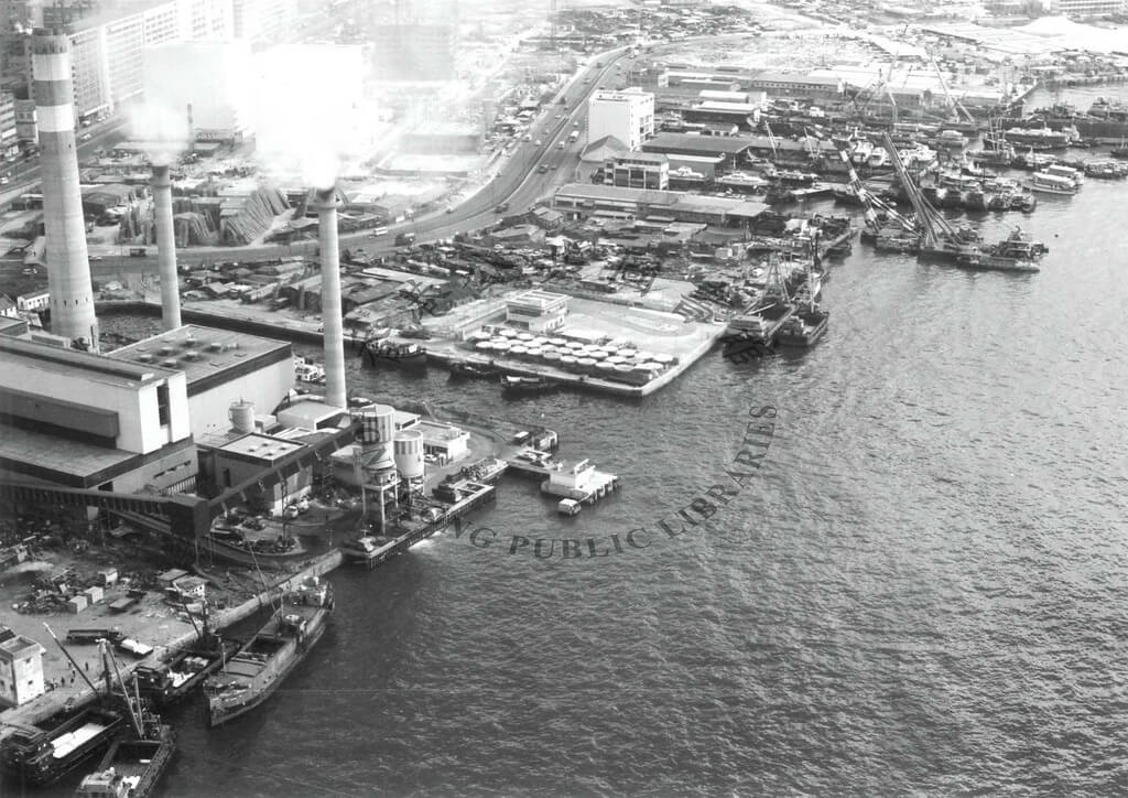 Shipyards Cheung Sha Wan post-war b