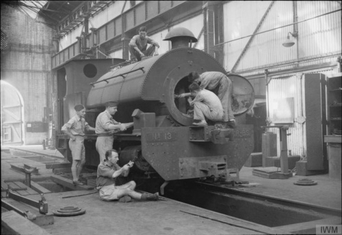 1945 RAF Repair Locomotive