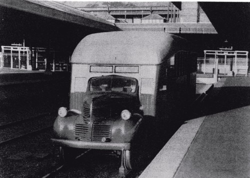 1949 dodge rail bus
