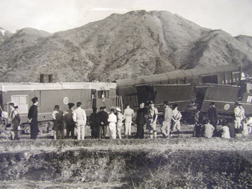 1955 Damaged Train
