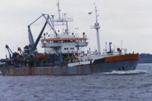 HAM dredger 308 image from dredgepoint website