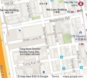 Shek Lung Street google map
