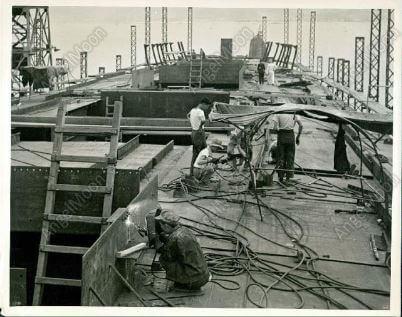 Taikoo Docks - Facebook collection 1958 welders 27.6.16