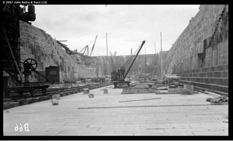 Taikoo Dockyard 1906 Dry Dock construction Swire