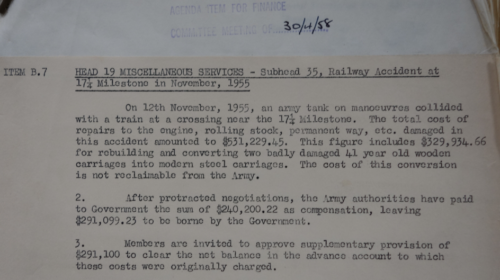 1958 Cost Of Incident