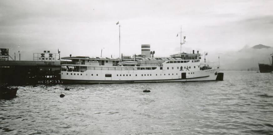 Tai Loy MV, Macau Ferry, image 1959 from panorami