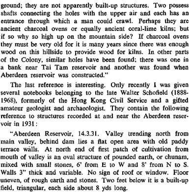Charcoal Burning in HK RASHKB Vol 11 (1971) James Hayes f