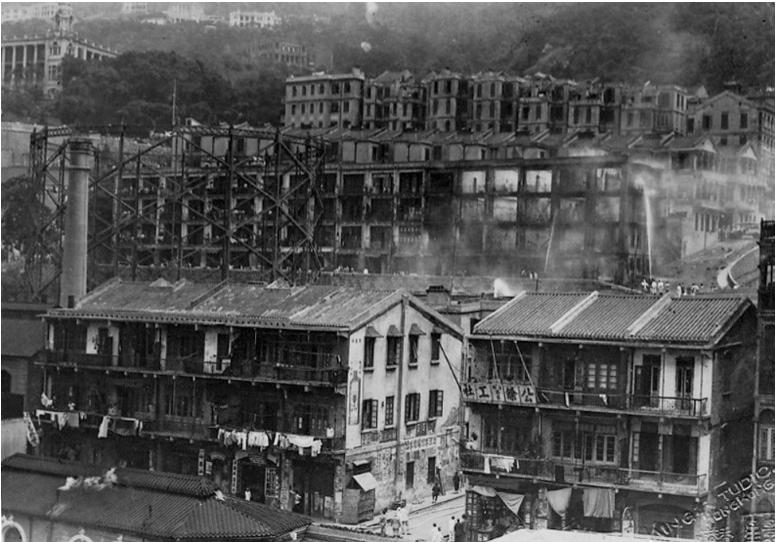 Hong Kong & China Gas Company Explosion 14.5.1934 SCMP Image