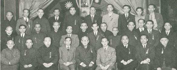 Lee Yat Ngok - with key members Hok Shan Association