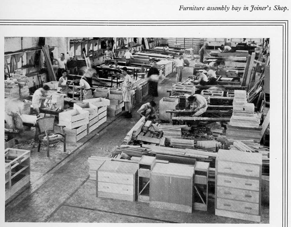 Taikoo Docks Fifty Years of Shipbuilding 1954 facilities w