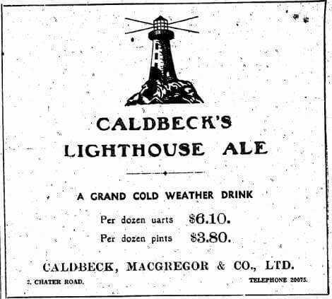 Caldbeck, MacGregor Advert 1.1.1940