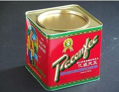 Biscuits, Three Kings Of, Image 14 Vintage Pacific Wafer Tin York Lo