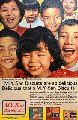 Biscuits, Three Kings Of, Image 4MY San Biscuits Ad In The Philippines York Lo