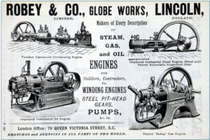 Robey & Company Advert 1898 Grace's Guides