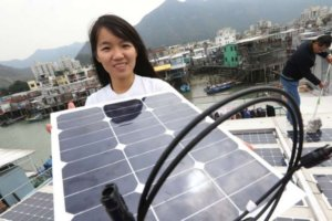Tai O Solar Panels Connecting To CLP Grid SCMP 26.2.17