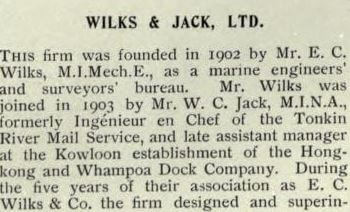 Wilks & Jack Ltd 20th Century Impressions A