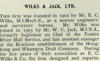 Wilks & Jack Ltd 20th Century Impressions A