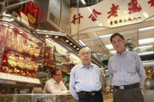 Wo Shing Goldsmith Co Owners Cheung Chuen Hoi (left) And His Brother Chueng Wai Nam SCMP 10.3.17