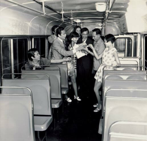 Conductor, Bus 1970s Photo Courtesy Information Services Dept Photographic Library HK Memory