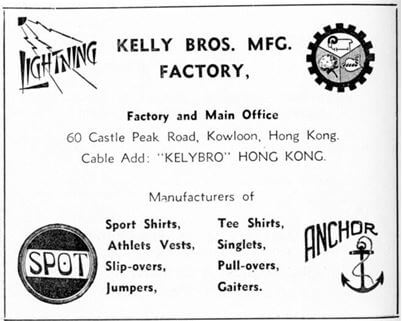 Kelly Bros Mfg Factory Manufacturer Advert 1953 IDJ York Lo
