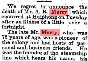 Marty, Auguste Raphael Obituary Detail 3 SCMP 17.12.1914