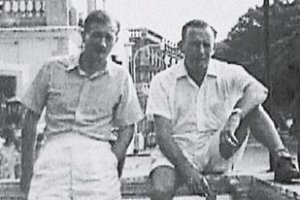 H.J. Cowie And New Zealnd Importer Morris Yock In HK In 1955 York Lo