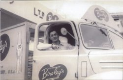 Bireley's Bottling Company , Shing Kong's Father In A Delvery Truck, No Date, No Location