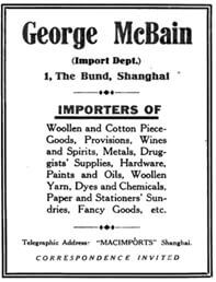 mcbains-advert-for-import-business-of-george-mcbain-1920-york-lo
