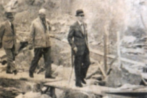 Tai Lam Chung Reservoir Governor's Visit In 1955 Quarrying In Hk AFTER WW2