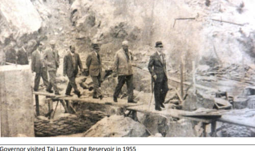 Quarrying In Hk Since World War Two Lord Wilson Heritage Trust Photo 4 Tai Lam Chung Reservoir Governor's Visit 1954