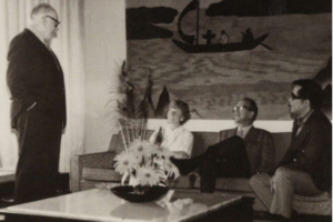 Tai Ping Carpets, Al Rabin (standing), The American Super Salesman Played A Key Role In Tai Ping's Early Days, HKHP