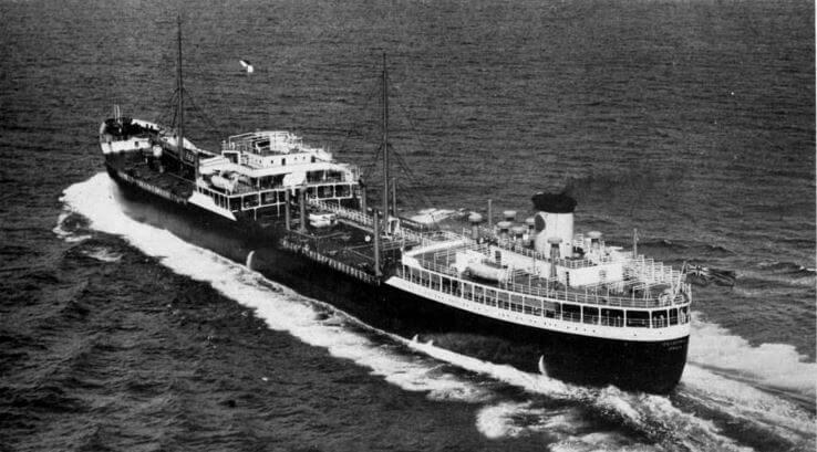 Anglo Saxon Petroleum Compay Ship Velutina 1951 Grace's Guides
