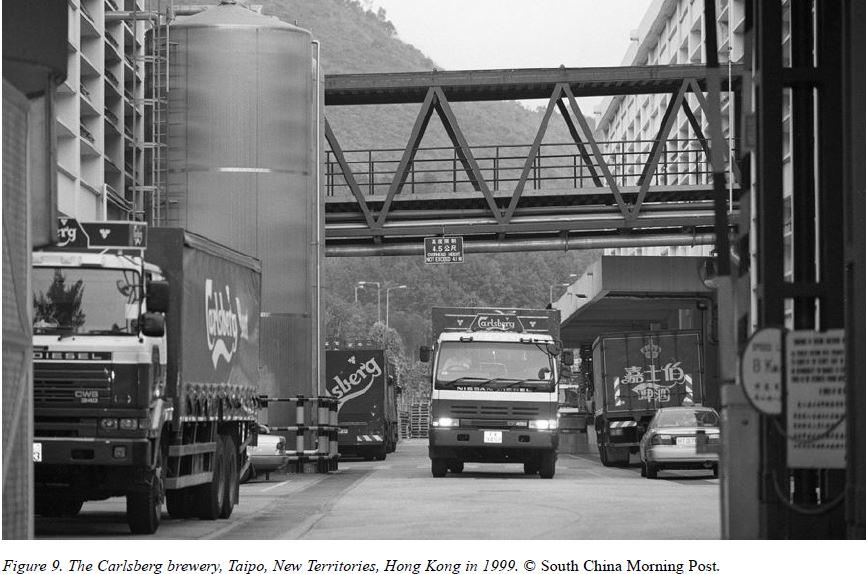 Carlsberg Brewery Image Tai Po 1999 Courtesy SCMP