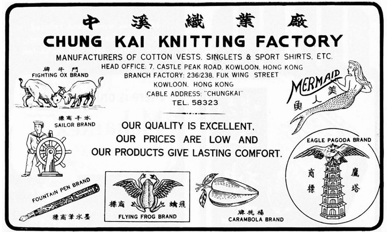Chung Kai Knitting Image 1 York Lo