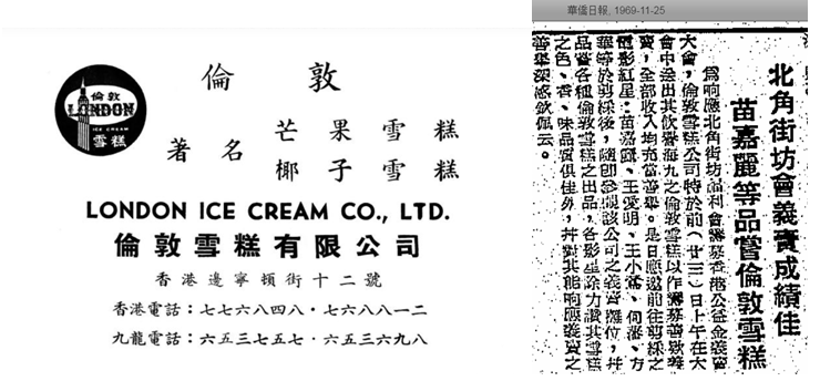 Finland, London And Swiss 3 Ice Cream Brands From The 1960s Image 6 York Lo
