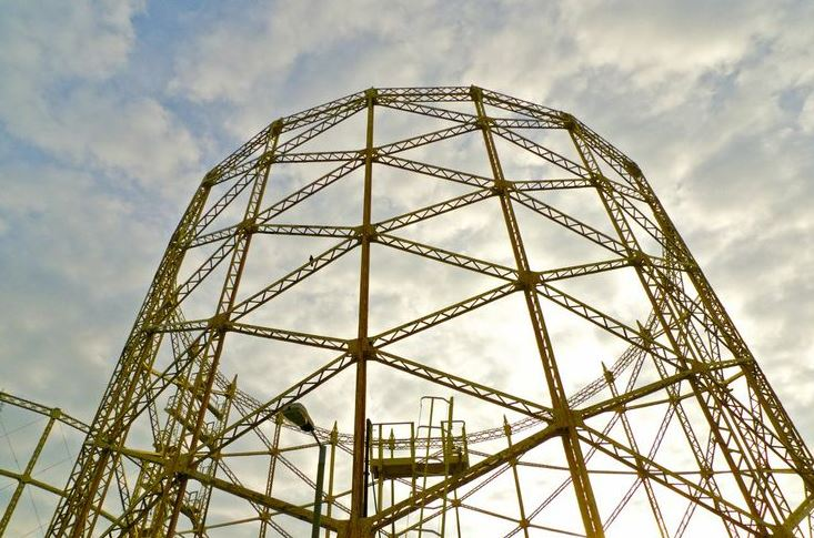 Hornsey Gas Holder No.1 Pinterest