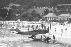 Macau Aerial Transport Company Aeromarine Float Plane At Repulse Bay Photo Cliff Dunnaway, Chic Eather