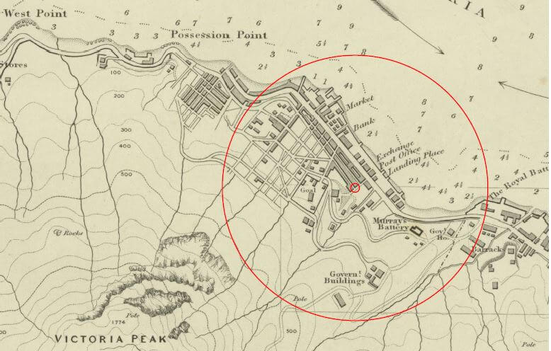 Map 1845 Lead Mine Tymon Mellor