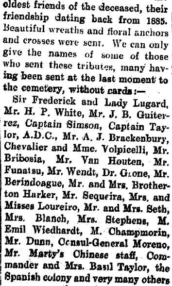 Marty, Auguste Pierre Obituary E SCMP25.1.1909 Stephen Davies