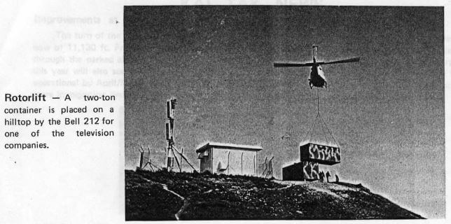 Hong Kong Air International HK Flying Club Mag 1974 Article E IDJ