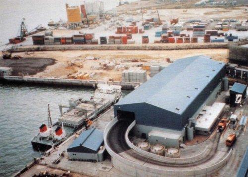 Hong Kong Waste 002 Waste Transfer Station