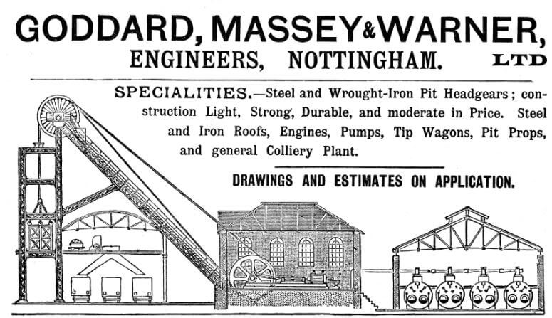 Goddard, Massey & Warner, Trade Card 1900 Grace's Guides