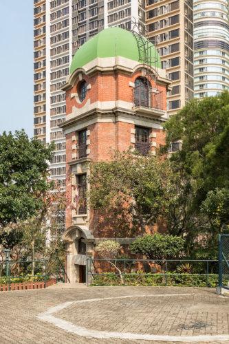 Signal Tower At Blackhead Point, Tsim Sha Tsui. The 109th Declared Monument.