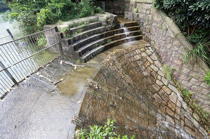 Wong Nai Chung Reservoir Dam Weir Image AMO
