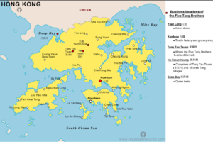Five Tang Brothers Business Locations Of, Source Jennie Tang