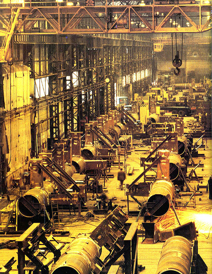 HSBC001.jpg Steel Component Manufacture BSC Middlesborough UK