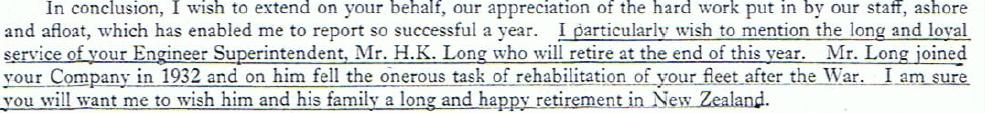 Harry Long HK & Yaumatei Chairman's Report extract 3.4.65