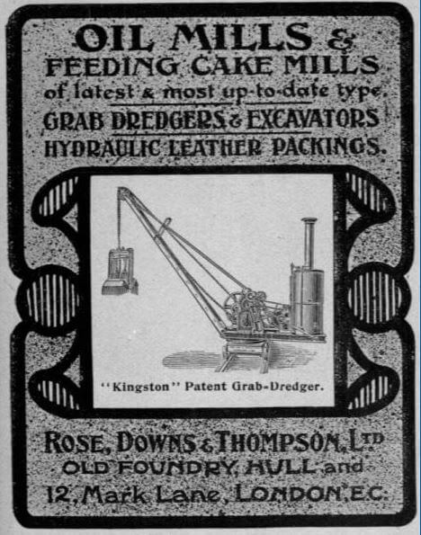Rose, Downs And Thompson Grace's Guides 1904 Advert